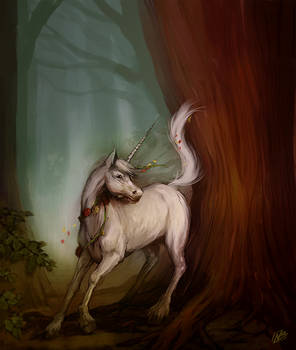Unicorn - Might and Magic V inspired