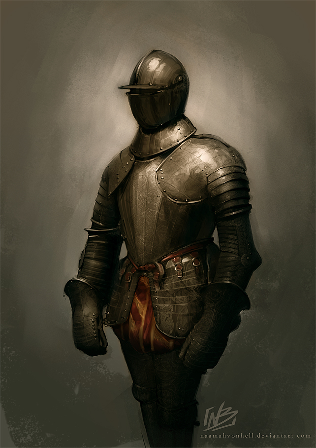 Armour 16th century - Study by NaamahVonhell