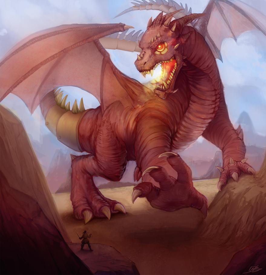 Dragon Outcast Odyssey Contest by NaamahVonhell