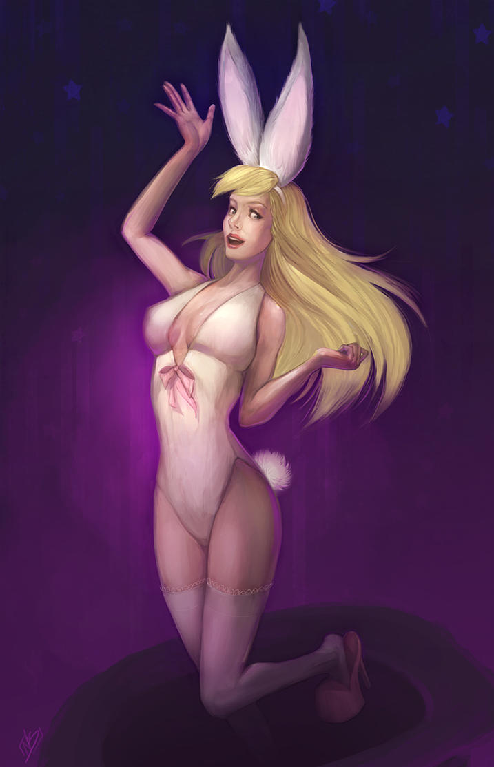 Bunny Girl by NaamahVonhell