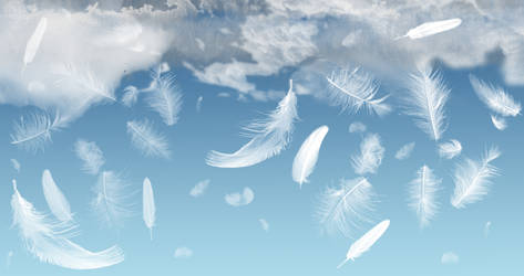 Angels in Mourning Wallpaper