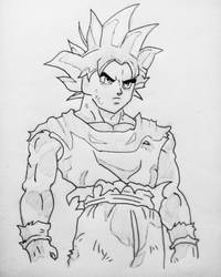 Goku Ultra Instinct by animelifeawesome