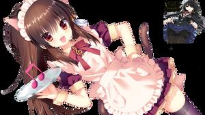 Render Natsume Rin Maid