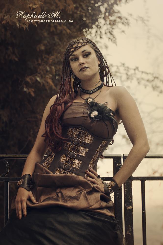 Princess Steampunk by AkashaGossow