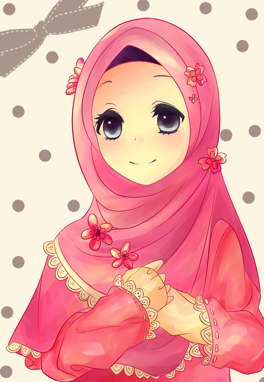 Pin Wallpaper-anime-muslimah-islamic-pictures on Pinterest