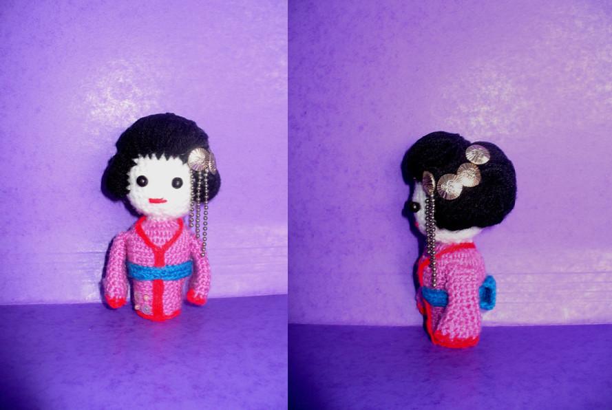 Amigurumi Geisha Tutorial : amigurumi geisha by gguser89 on deviantART