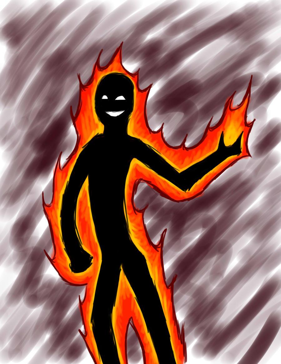 pyromaniac speedpaint by Yxanr
