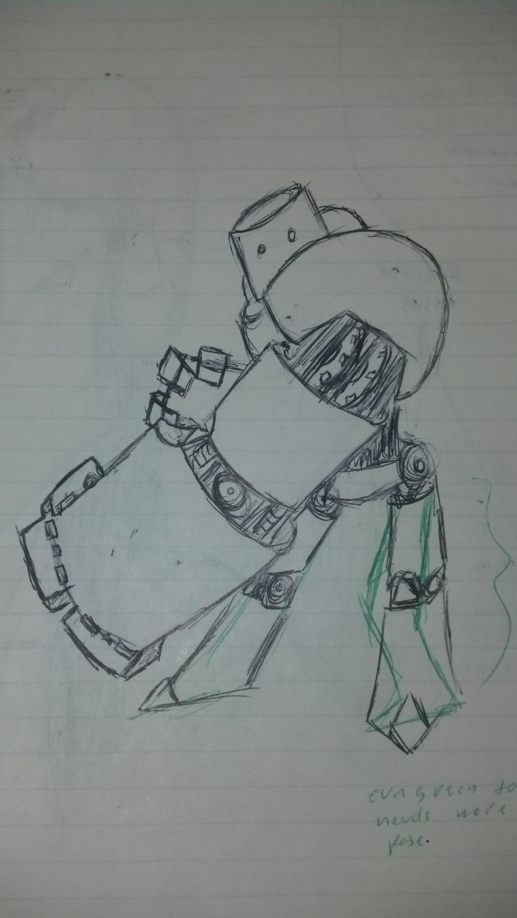 Robot Smash by Yxanr