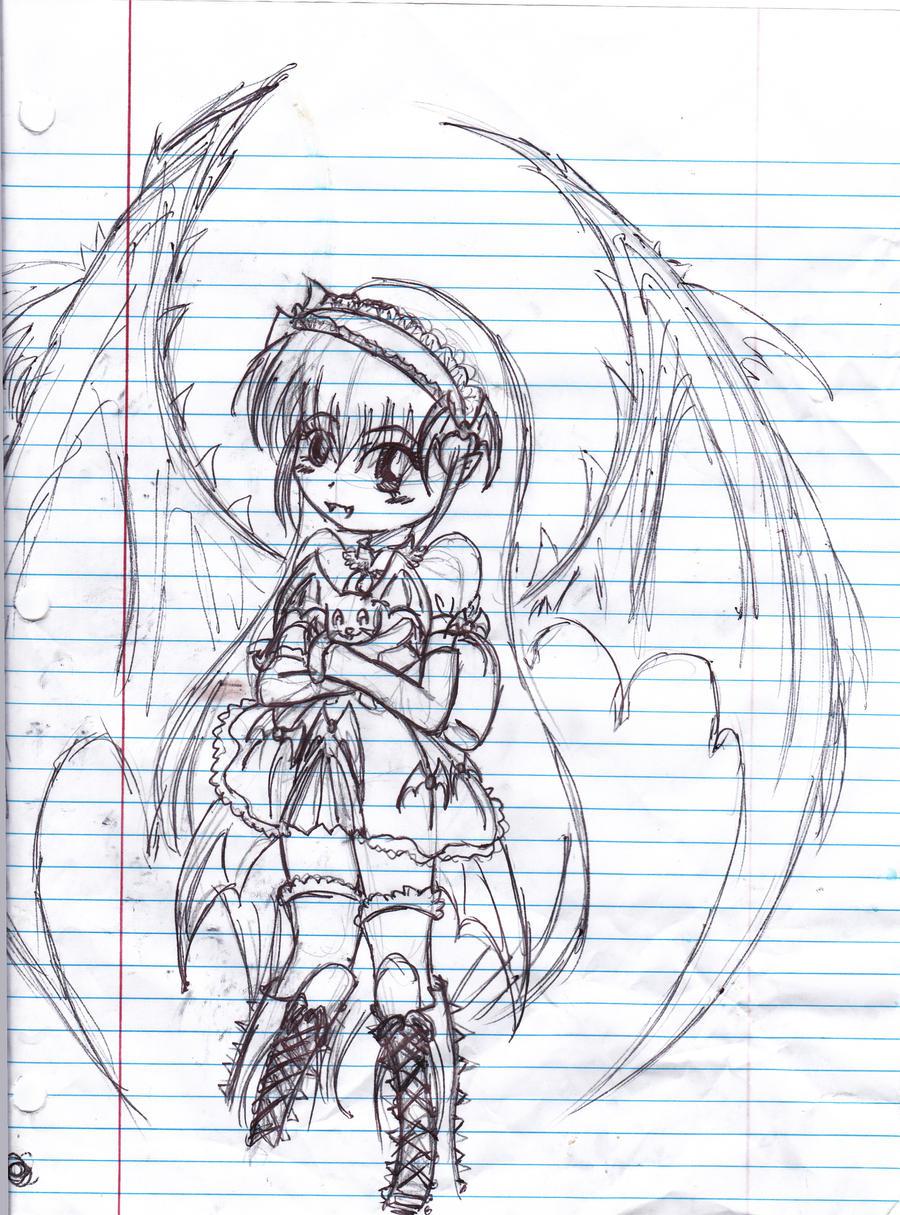 Random Sketch by AridanChan