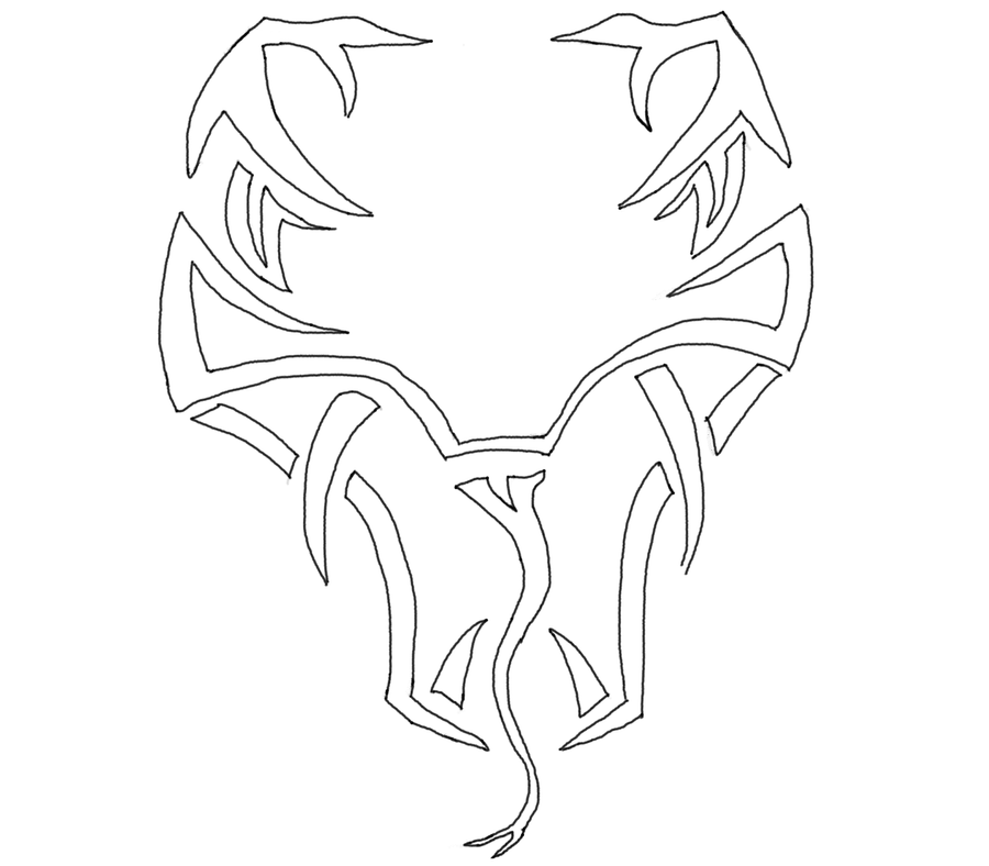 Randy Orton Logo By Makiman1 On Deviantart Randy Orton Coloring Pages