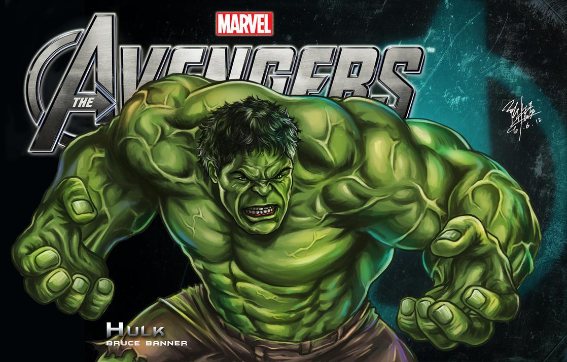 Simple Wallpaper Marvel The Incredible Hulk - hulk_by_godfathersky-d52kc61  Best Photo Reference_472182.jpg