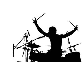 Stencil Drummer by 1Key1Key
