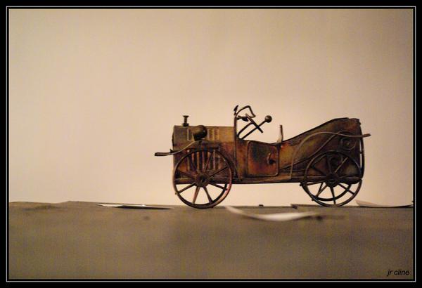 Antique model by eskimoblueboy