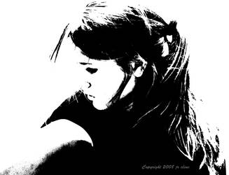 Black and white by eskimoblueboy