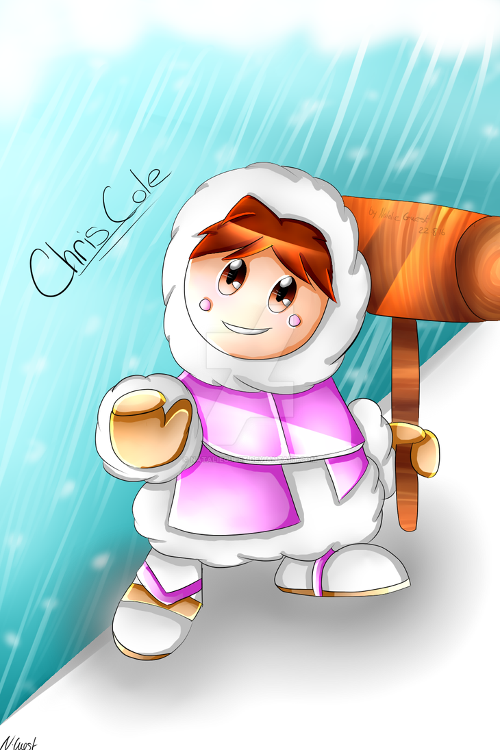 Chris cole as ice climber (Commissions) by NatalieGuest