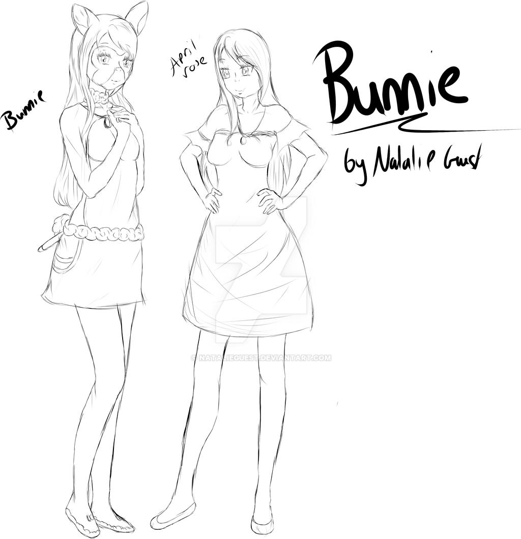Bunnie Sketch Update by NatalieGuest