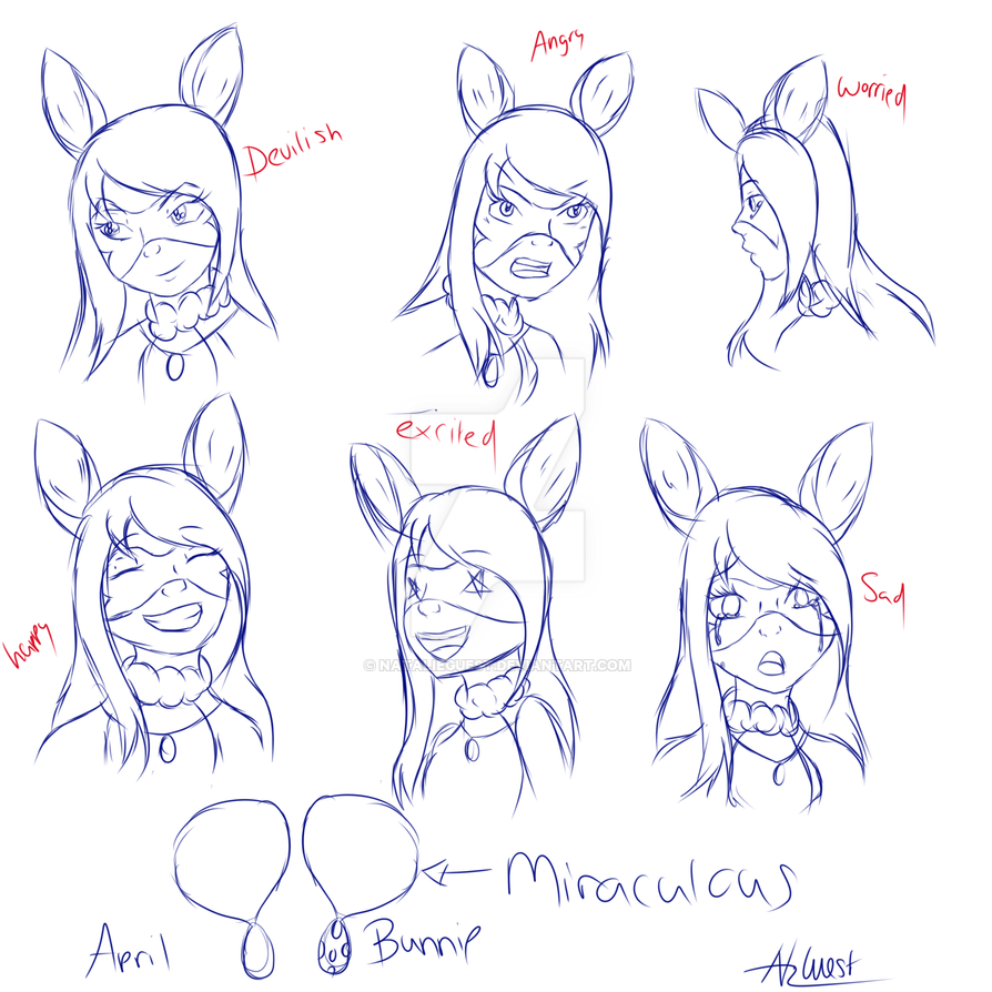 Many faces of bunnie by NatalieGuest