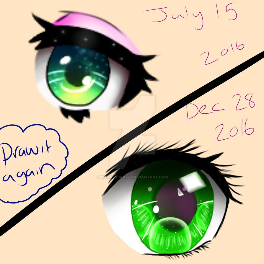Draw it Again: Eye by NatalieGuest