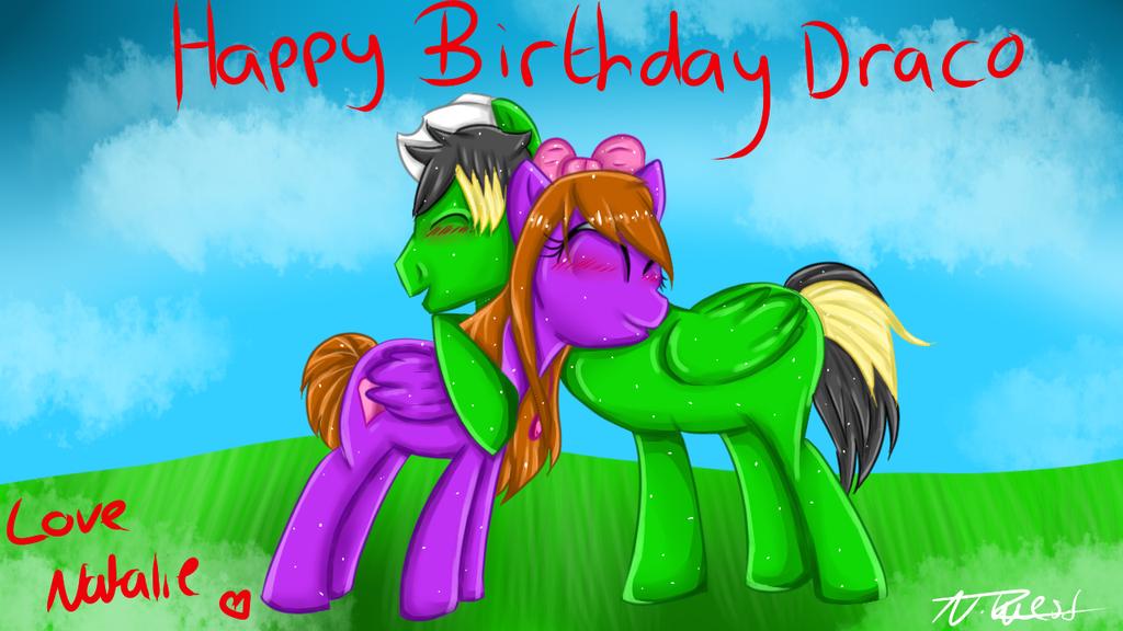 Happy Birthday Draco by NatalieGuest