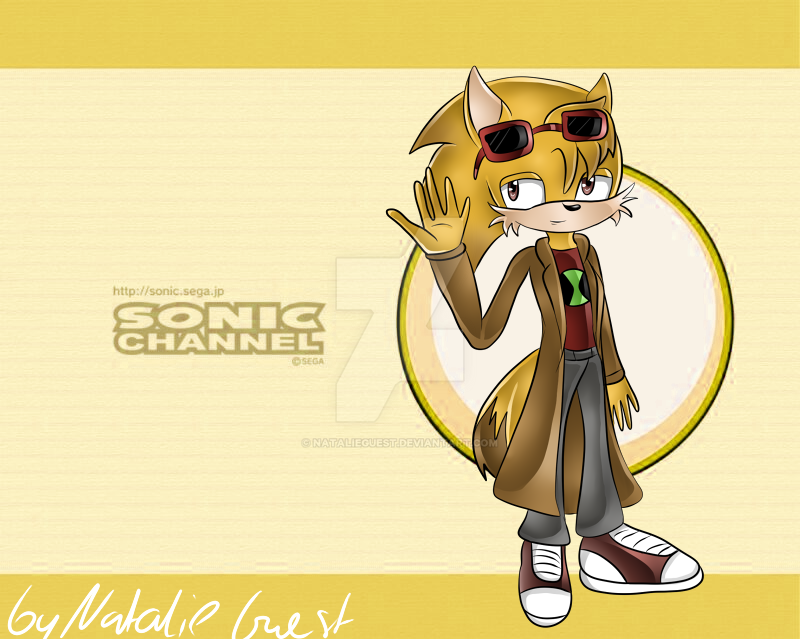 Sonic Channel Style Alex Hedgefox by NatalieGuest