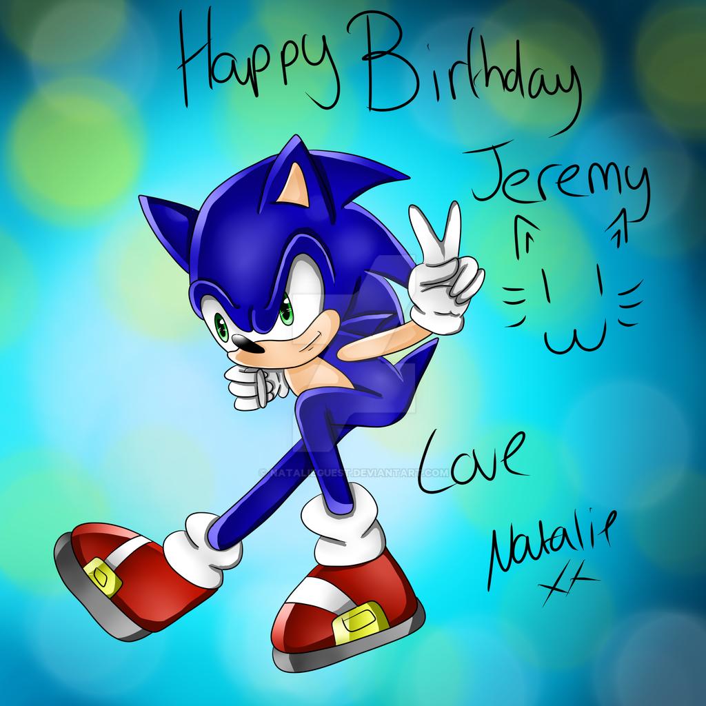 Happy Birthday Jeremy Dmitruk by NatalieGuest