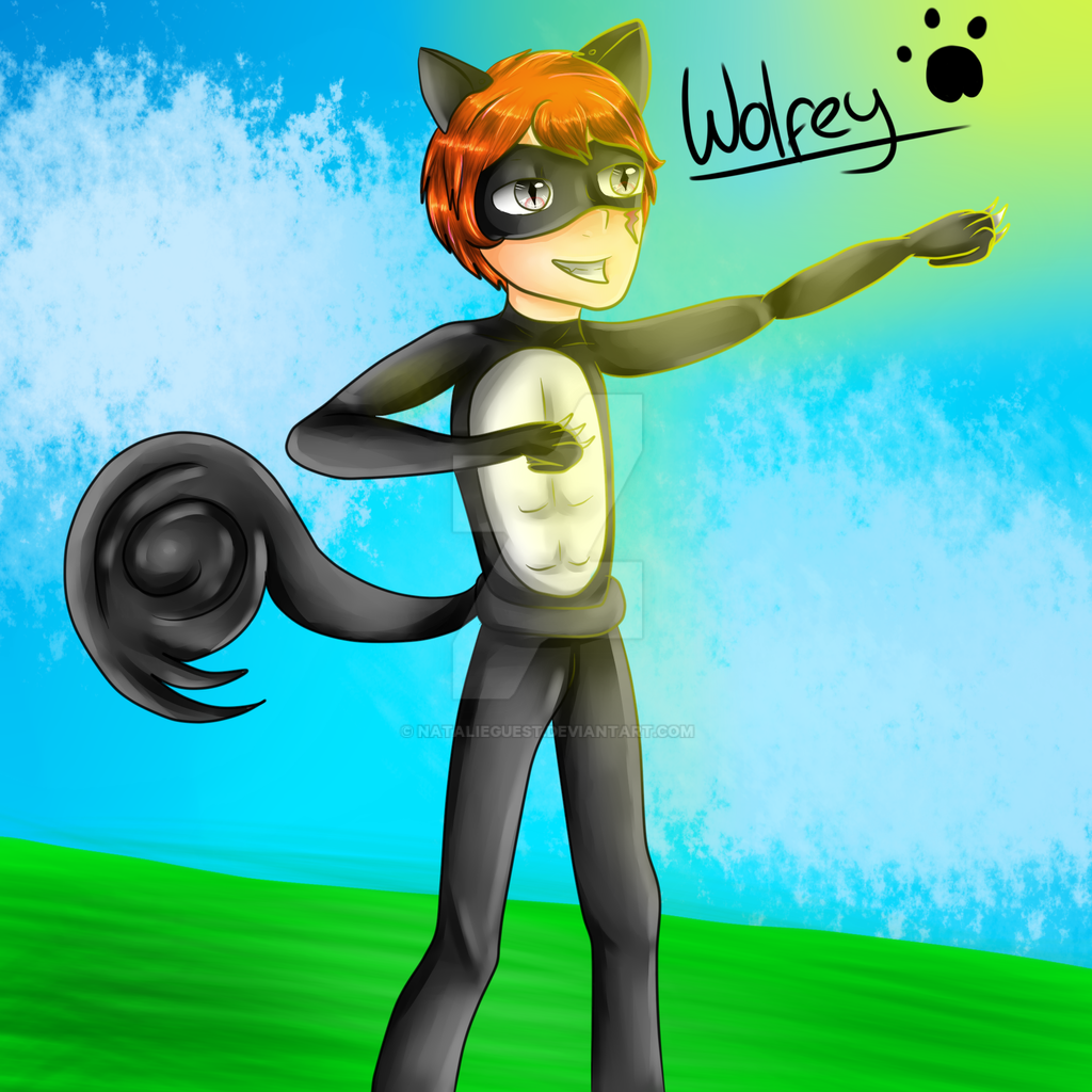 (REQUEST) Wolfey Miraculous Oc by NatalieGuest