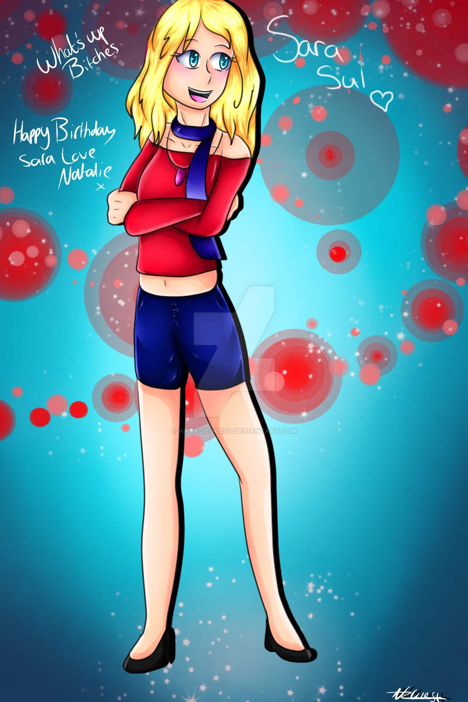 Happy Birthday Sara by NatalieGuest