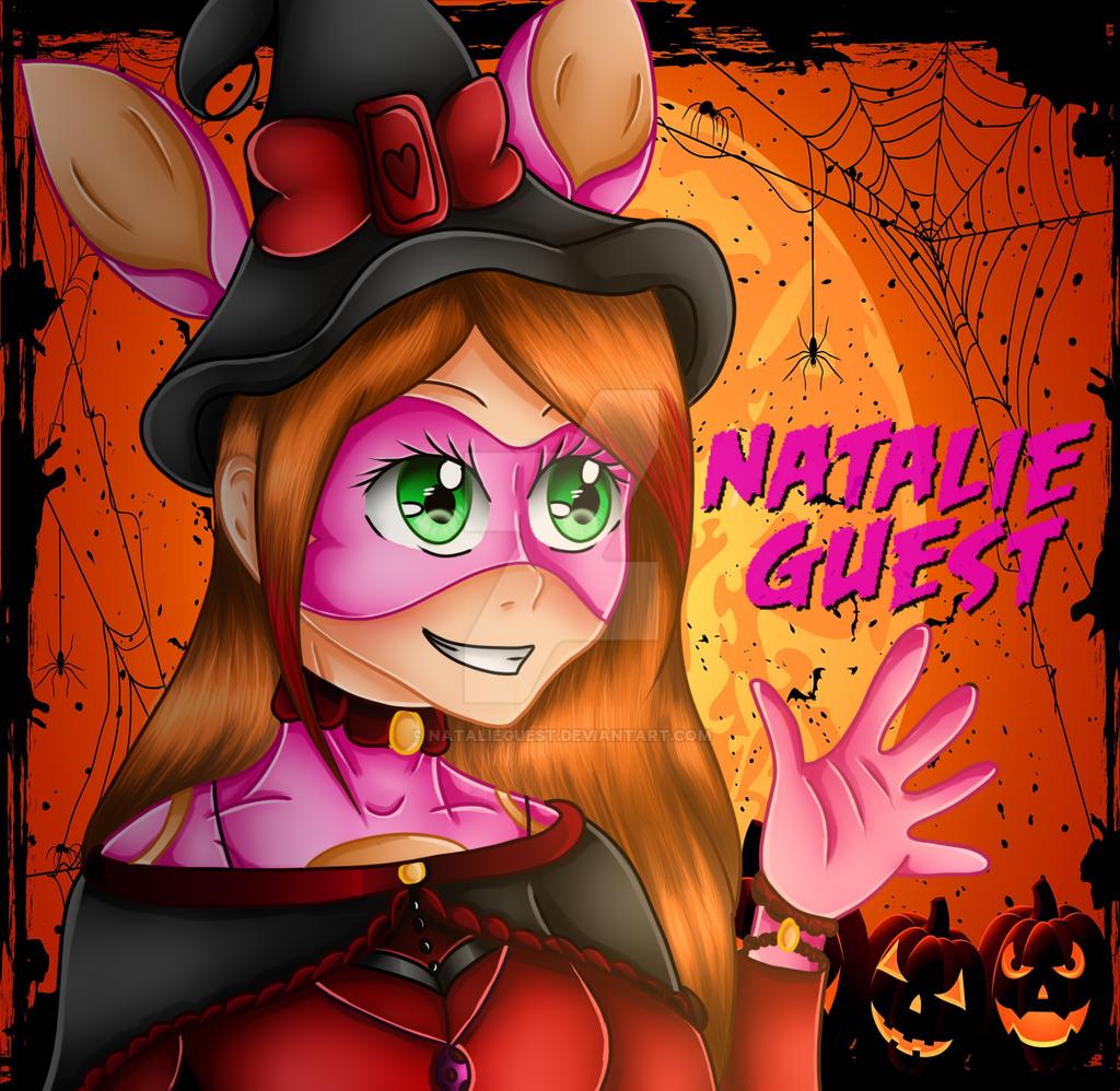 Bunnie Halloween by NatalieGuest