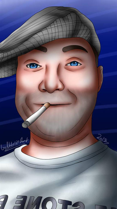 Chris Kewly Portrait by NatalieGuest