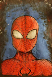 Spiderman Painting by NatalieGuest