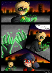 CATACLYSM- Page 1/5 Comic (Chatnoir Death) by NatalieGuest