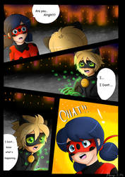 CATACLYSM - Page 2/5 Comic (Chatnoir Death) by NatalieGuest