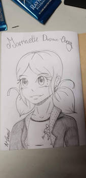 Marinette Dupain Cheng Sketch