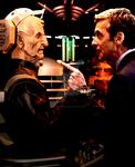 The 12th Doctor Faces Davros