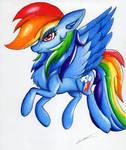 Rainbow Dash by LuxiWind