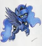 Princess Luna by LuxiWind