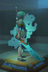 Zora Armor Link by balloonwatch