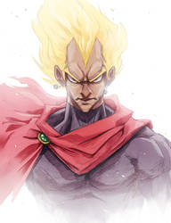 The King of Saiyans by balloonwatch