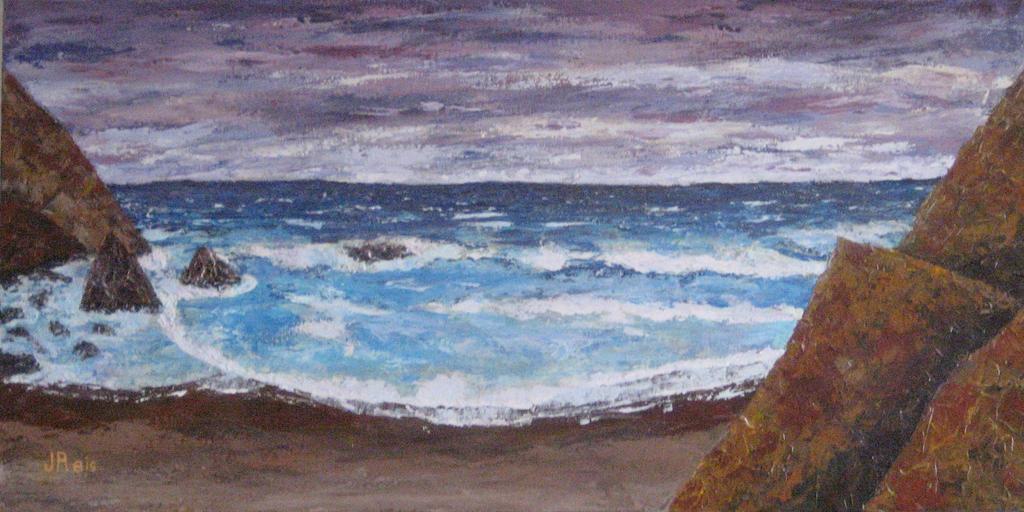 Winter Sea by JohnCReis