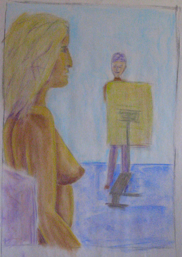 Pastel Nude by JohnCReis