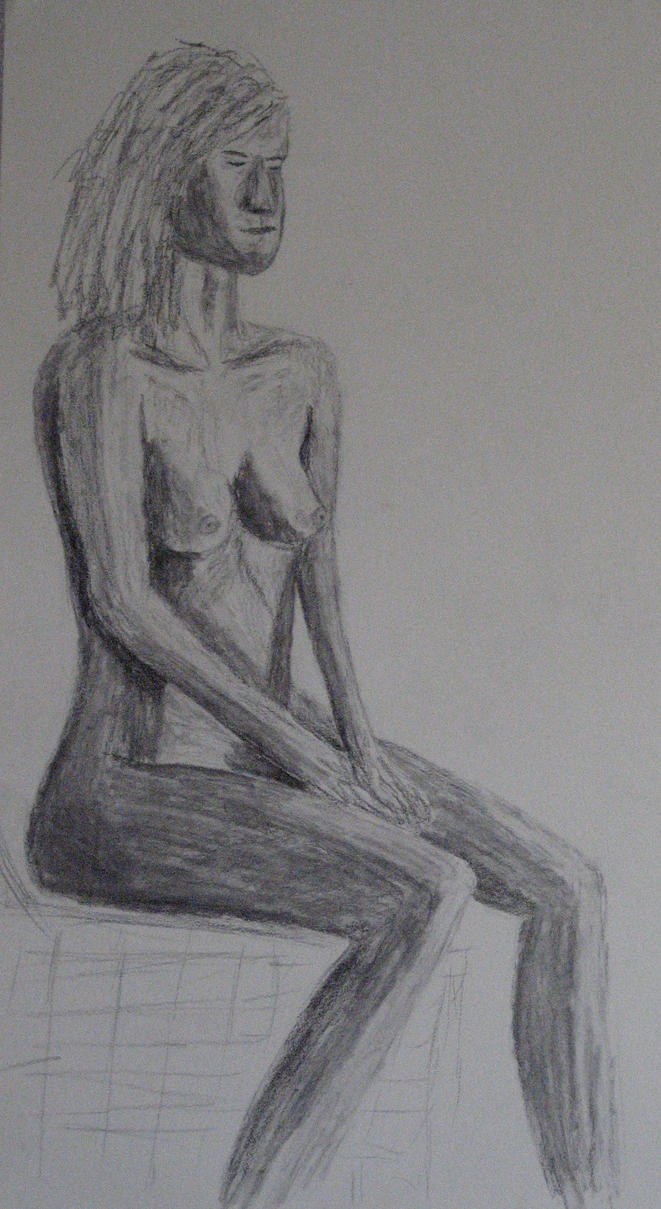 Seated Nude by JohnCReis