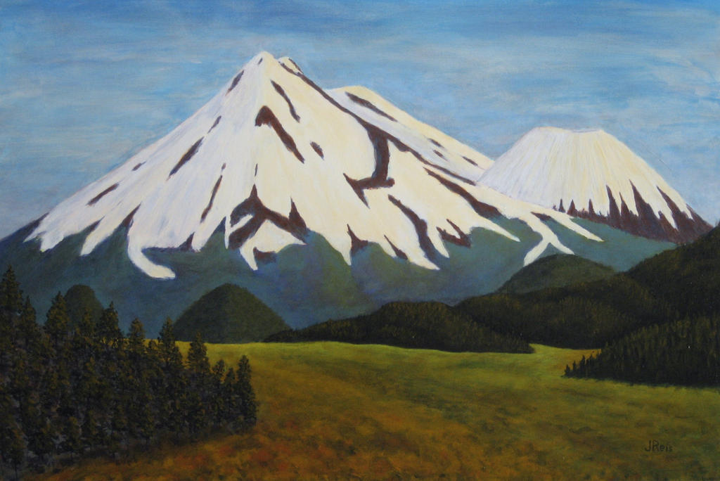 Mount Shasta #3 by JohnCReis