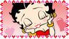 betty boop stamp by boltun