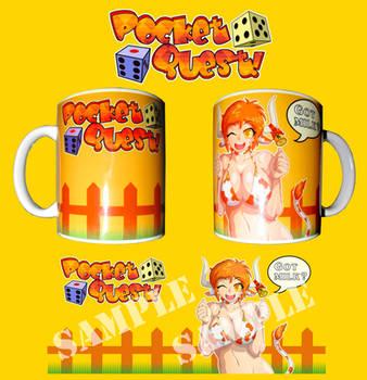 Pocket Quest! - Karol mug by Testament77