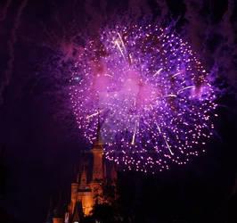 Castle Fireworks 7
