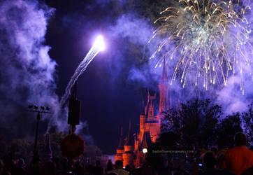 Castle Fireworks 6bis by BadInfluenceSpeaks