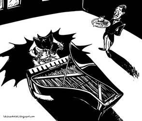 Batman piano