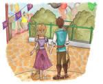 WDWs Rapunzel and Flynn