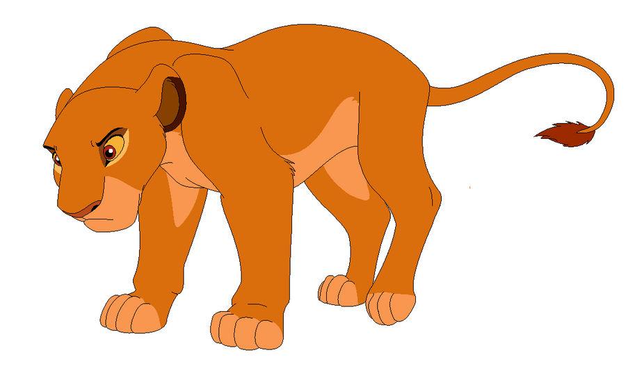 Simba Gender Bent by TomiPhantom