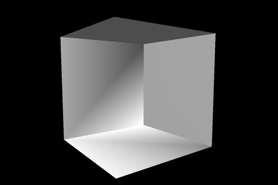 White cube stage by RJMMD
